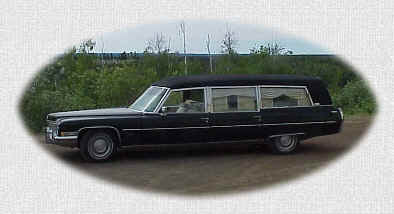 Inuvik Funeral Services Hearse